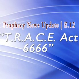 Blue background with words: TRACE Act 6666-E12